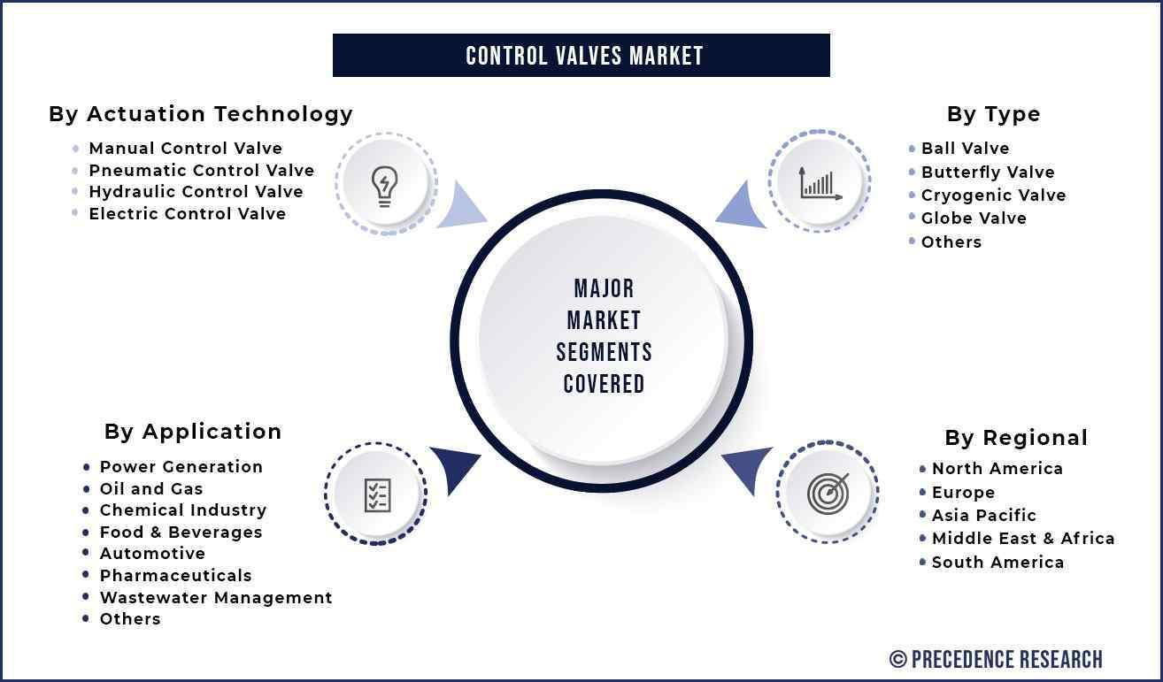 Control Valves Market Segmentation