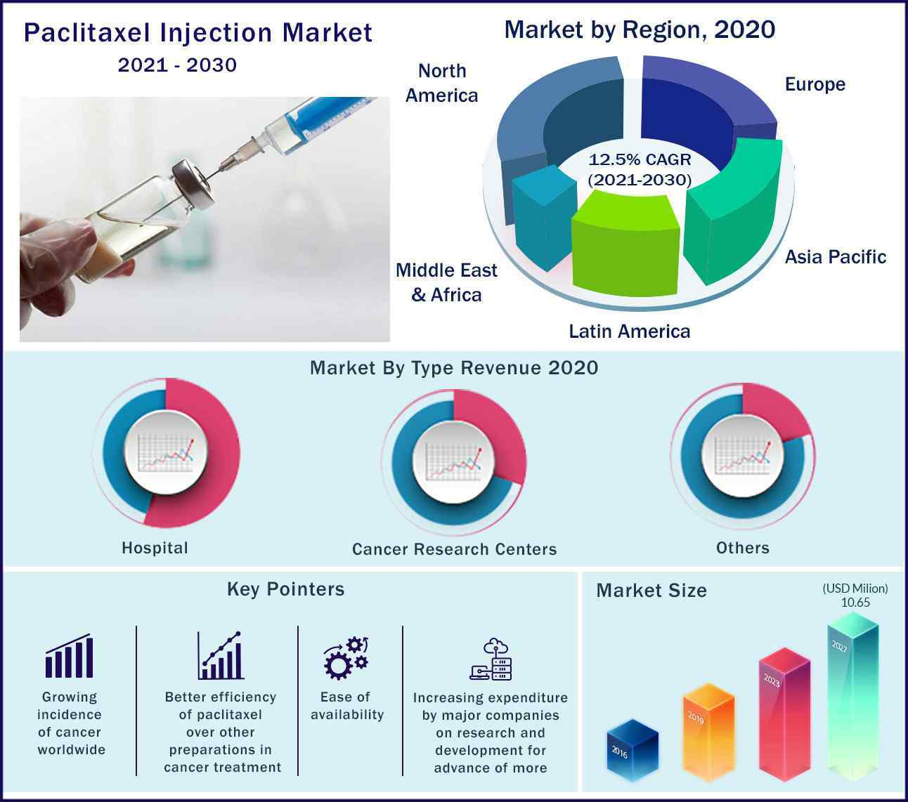 Global Paclitaxel Injection Market 2021-2030