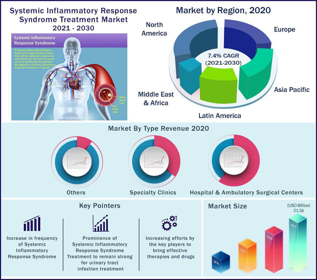 Global Systemic Inflammatory Response Syndrome Treatment Market 2021-2030