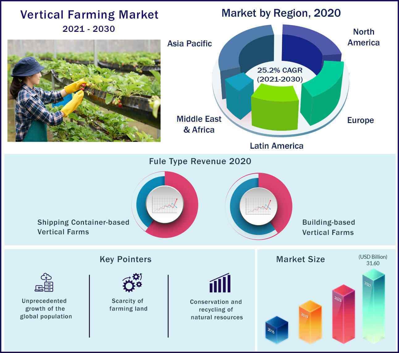 Global Vertical Farming Market 2021-2030