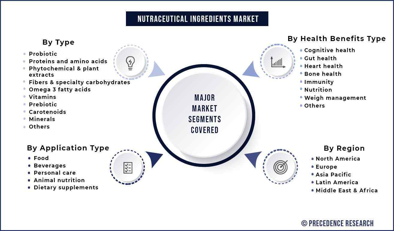 Nutraceutical Ingredients Market Segmentation