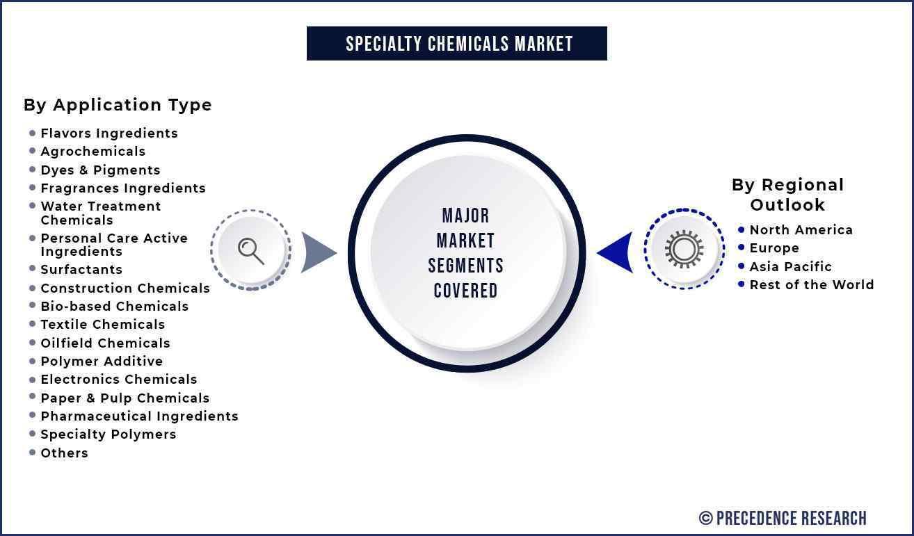 Specialty Chemicals Market Segmentation